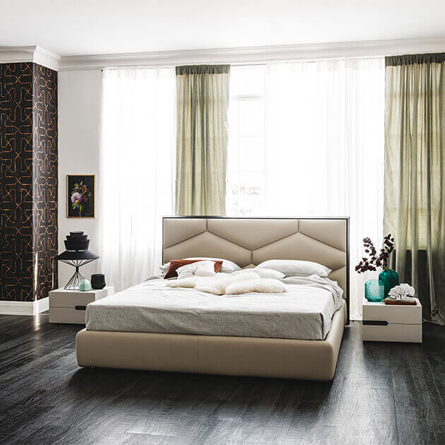 letto king size Edward a