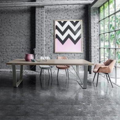 Magnum Tavolo con piano legno massello