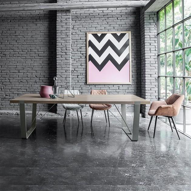Tavolo piano legno massello magnum 1a