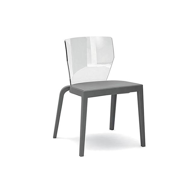 Sedia schienale plastica bi 1a